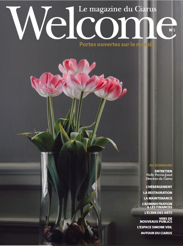 Couverture du Magazine Welcome